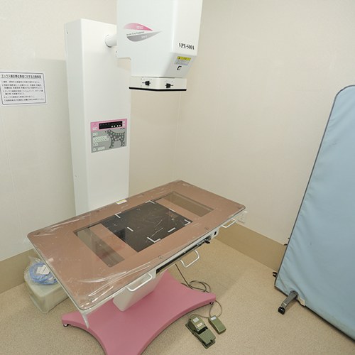 大志田動物医院 レントゲン室